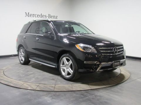 Certified Pre-Owned 2015 Mercedes-Benz ML 400