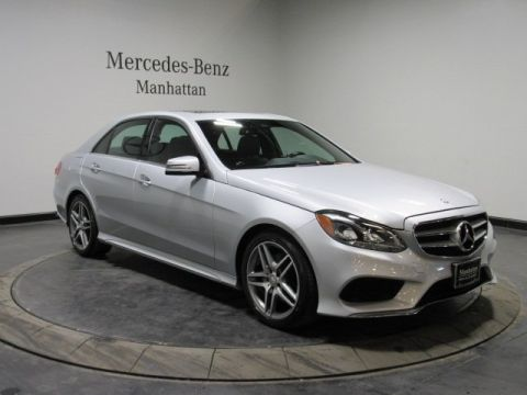 Certified Pre-Owned 2015 Mercedes-Benz E-Class