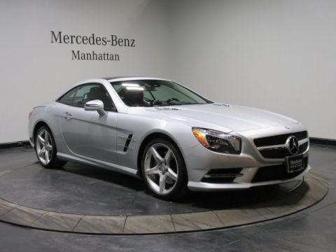 Certified Pre-Owned 2016 Mercedes-Benz SL 550 RWD ROADSTER