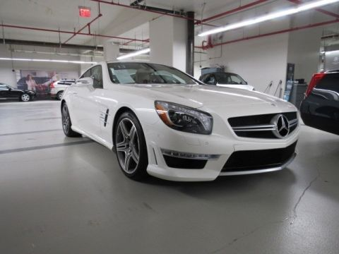 Certified Pre-Owned 2013 Mercedes-Benz SL-Class AMG® SL 63