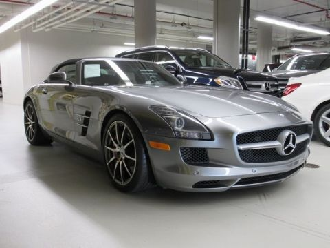 Pre-Owned 2012 Mercedes-Benz SLS  RWD With Navigation