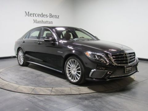 Certified Pre-Owned 2015 Mercedes-Benz S 65