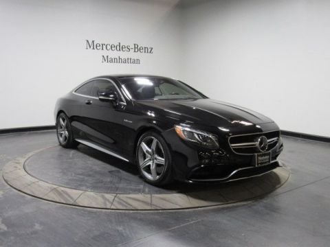 Certified Pre-Owned 2016 Mercedes-Benz S-Class AMG® S 63 Coupe