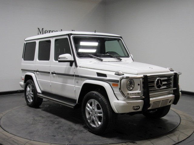 Certified Pre-Owned 2015 Mercedes-Benz G 550