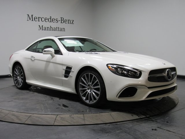 New 2018 Mercedes-Benz SL 550 RWD With Navigation
