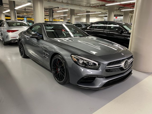 Certified Pre-Owned 2017 Mercedes-Benz SL 63 AMG®
