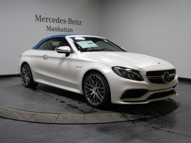 New 2018 Mercedes-Benz AMG® C 63 S Cabriolet