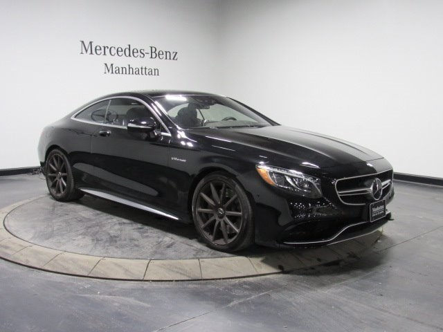 Certified Pre-Owned 2016 Mercedes-Benz S 63 AMG®