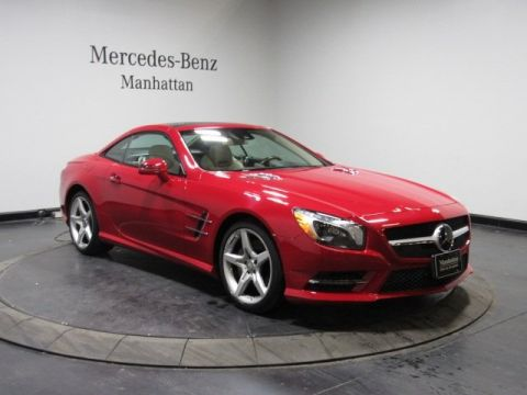 Certified Pre-Owned 2016 Mercedes-Benz SL 400 Roadster