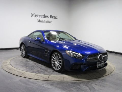 Certified Pre-Owned 2017 Mercedes-Benz SL 450