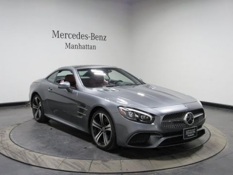 Certified Pre-Owned 2018 Mercedes-Benz SL 450