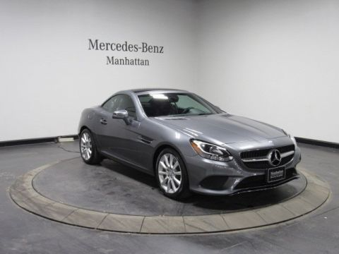 Certified Pre-Owned 2017 Mercedes-Benz SLC 300 RWD 2D Convertible