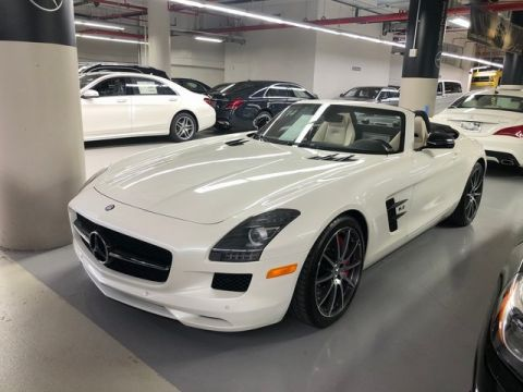 Certified Pre-Owned 2014 Mercedes-Benz SLS AMG® GT SLS AMG® GT RWD With Navigation