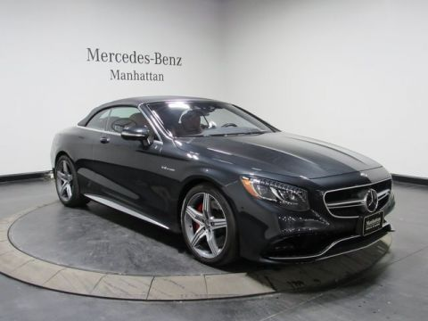 Certified Pre-Owned 2017 Mercedes-Benz S 63 AMG®