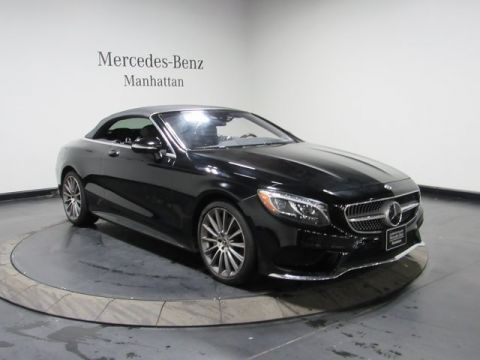 Certified Pre-Owned 2017 Mercedes-Benz S 550