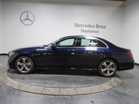 Certified Pre-Owned 2017 Mercedes-Benz E-Class